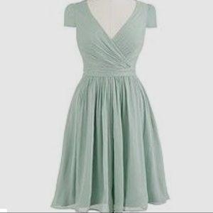 J. Crew Mirabelle silk chiffon dress - unworn